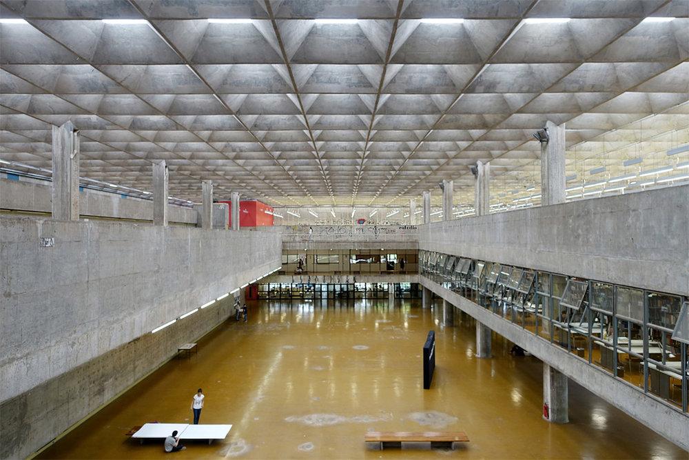 Fakultät für Architektur und Urbanismus FAU São Paulo, Vilanova Artigas