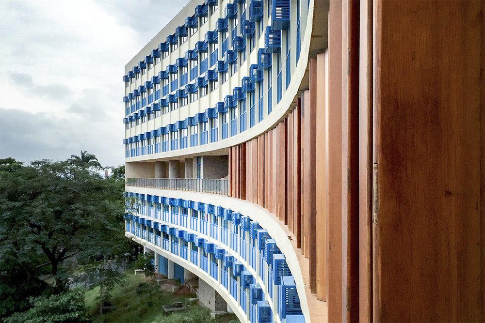 Pedregulho-Wohnkomplex, Rio de Janeiro, Affonso Reidy