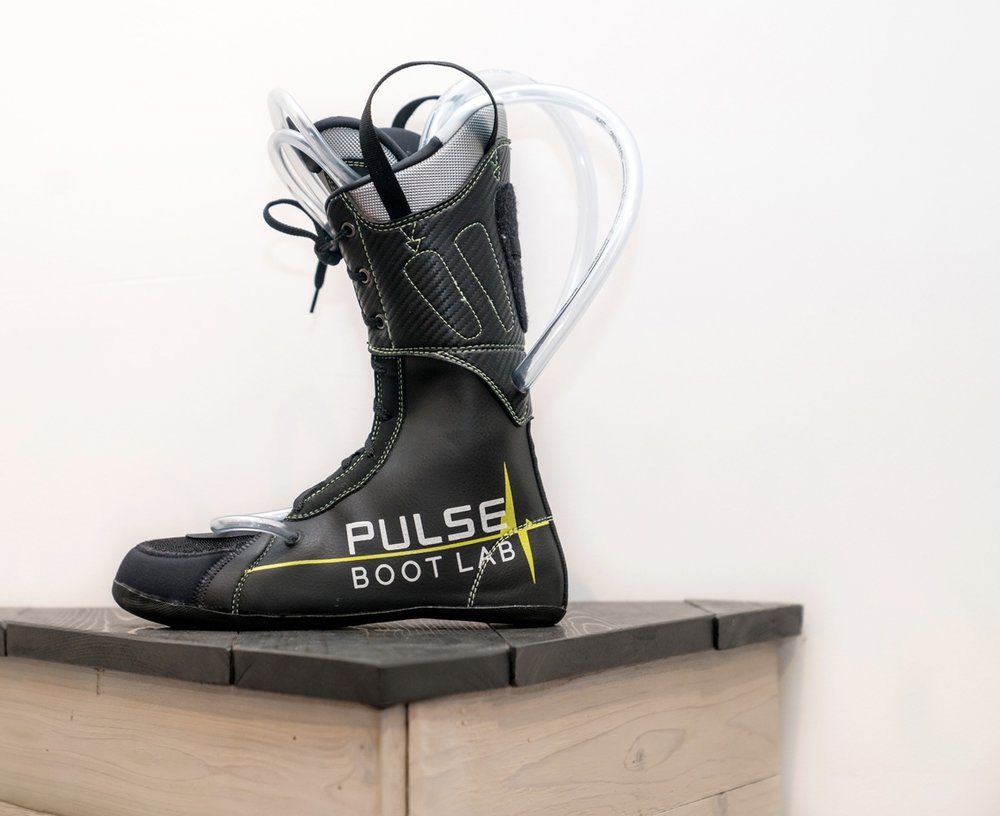ProFit Injection Liner - Our injection liner is an aftermarket, custom ski boot product. Ski boots are comprized of two key elements: liner and the shell. Both available in multiple shapes and sizes. Stock liners are intended to be comfortable in the store in order for manufacturers to capture the sale, however the functionality of the liners is compromised for skiing purposes. They generally pack out quickly due to low density materials, and more importantly, they do not accommodate the physical and biomechanical intricacies of an individuals foot/feet.