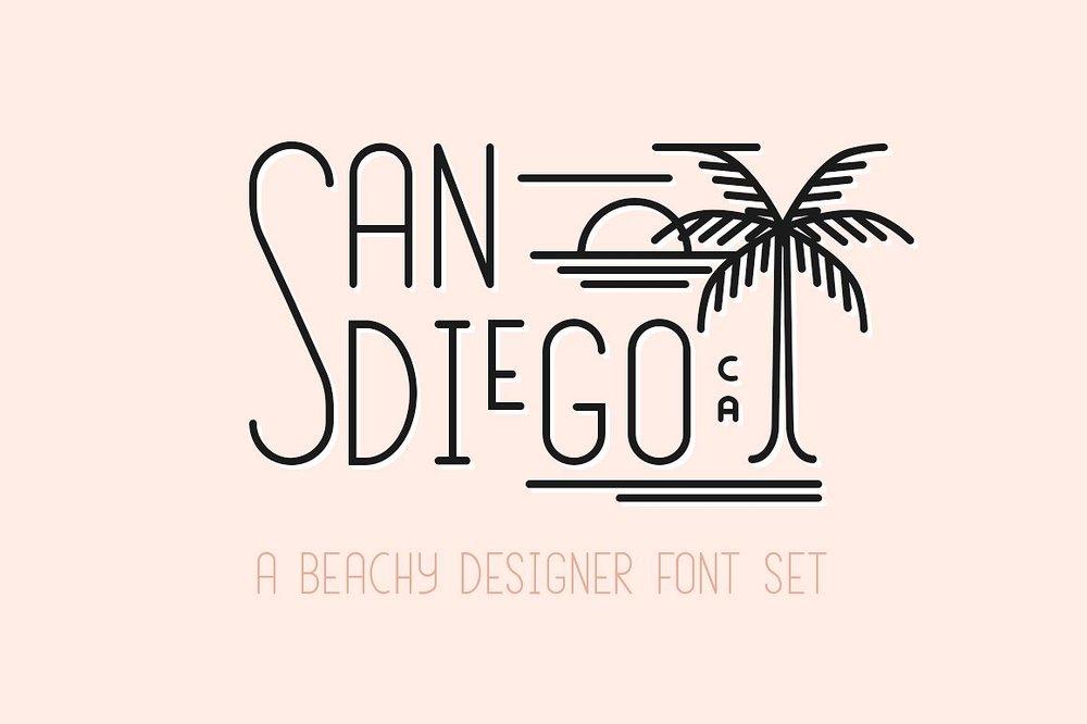 best-summer-fonts-san-diego-beach-set.jpg