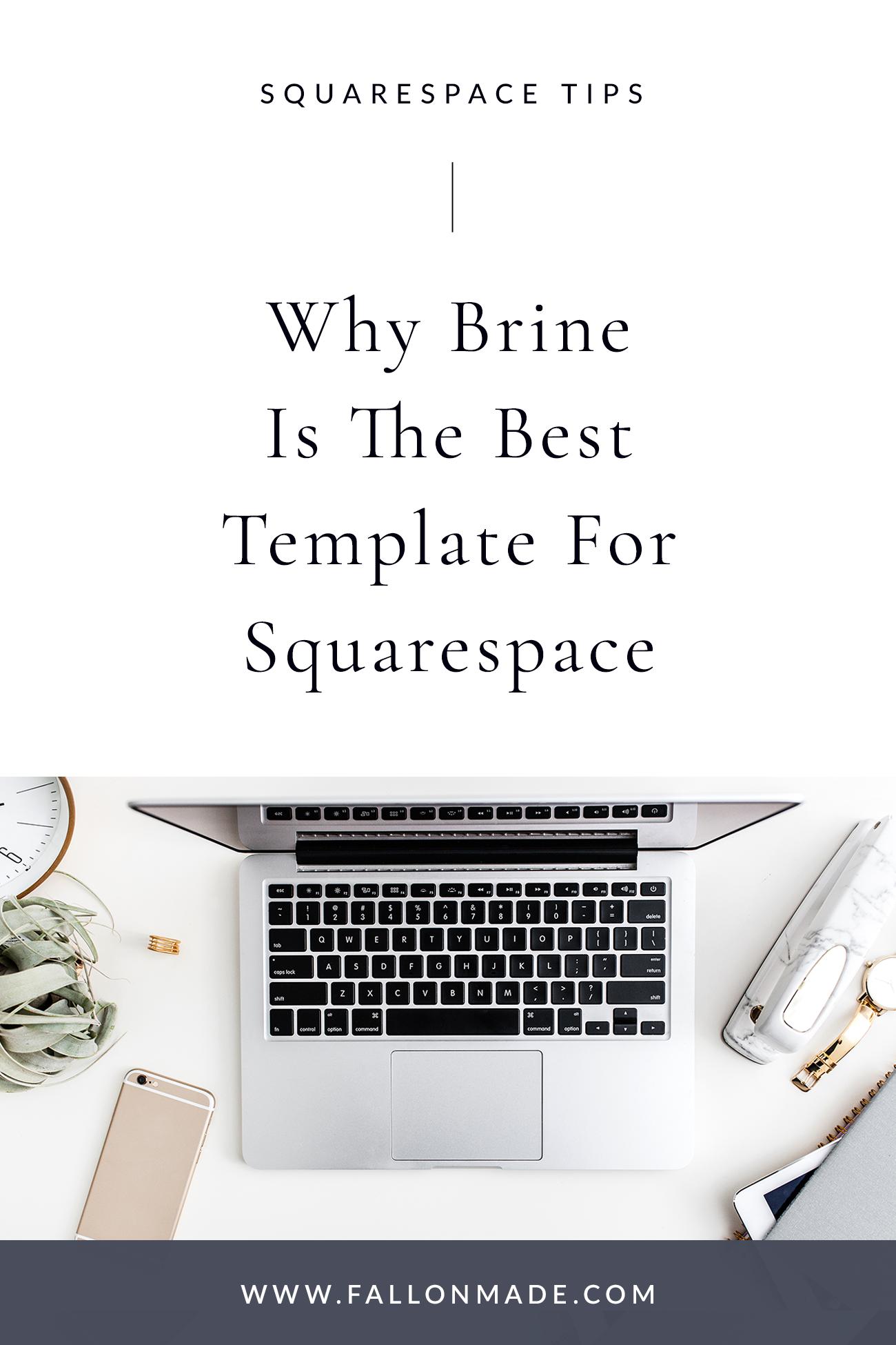 Best Squarespace Template Fallon Gerst