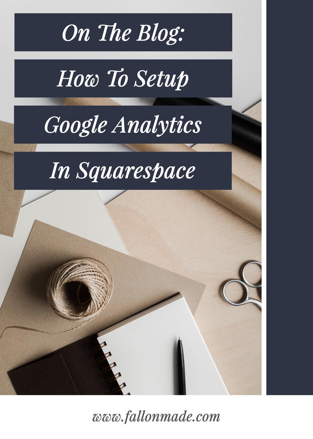 Google Analytics On Squarespace