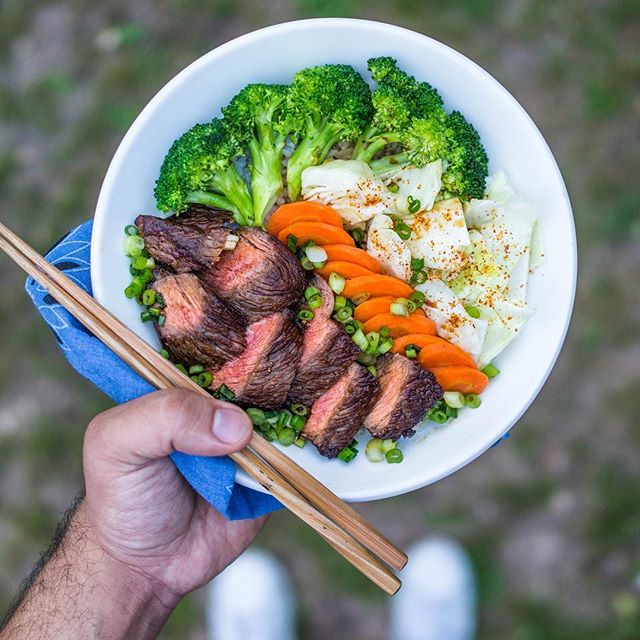 Teriyaki steak 🥩 bowl