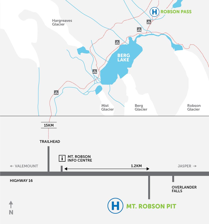 Mt. Robson Map