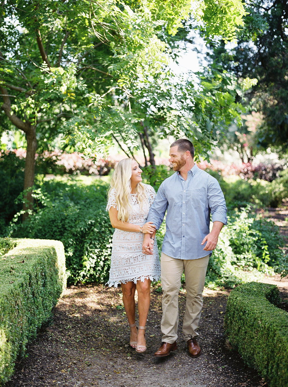 DFW Wedding Plannning | Allday Events | Dallas Arboretum Engagement Session