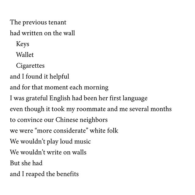 "Select Poem from last week's workshop: ""Keys Wallet Cigarettes (223 N Camac Street, Philadelphia, PA)"" by @kkypers  Check out the Select Poems from the last few weeks on our website (link in bio)  #keys #wallet #cigarettes #philadelphia #poetry #poem #poetrycommunity #instapoetry"