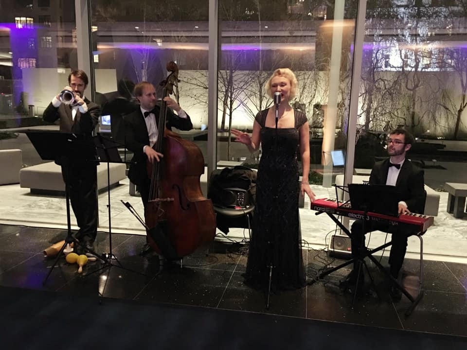 Quartet for Corporate Party -  The MoMa