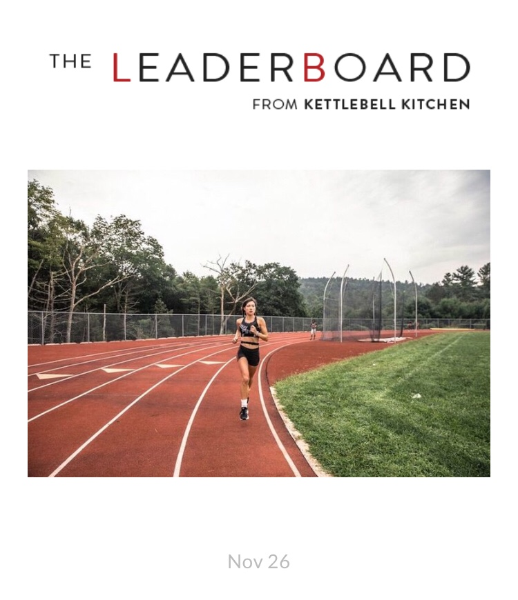 The Leaderboard - The Leaderboard from Kettlebell Kitchen featured Fast Feet NYC in an article that highlights the importance of equality in athletics and education. Click here to read the full article!