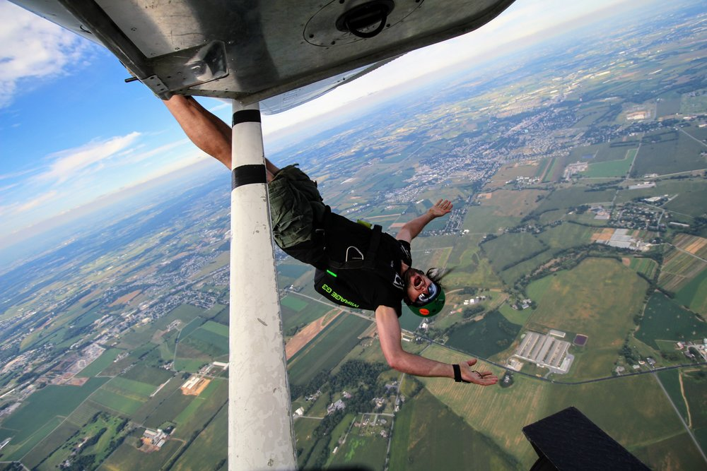 maytown sport parachute club best drop zone in lancaster pa