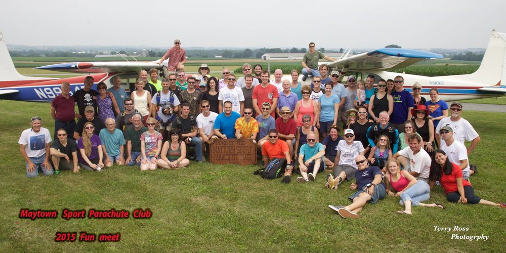 Maytown Sport Parachute Club Picture 2015