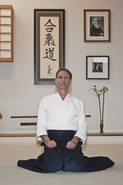 Kiff Clark - Kiff Clark started Aikido practice in 1986. For over two decades now he annually attends 15 or more Aikido and Iaido seminars throughout the United States and Canada. Ukemi (the art of falling), suwari waza (techniques done from a kneeling position) and weapons continue to be a great source of joy and fascination for him and he will always be grateful to all his teachers, past, present and future. He is a rokudan (6th degree black belt) and shidoin instructor in Aikido and in Iaido he holds the rank of yondan (4th degree black belt). In addition to being the chief instructor of Portland Aikido Kiff is the chief instructor of the Iaido program and the children's program.