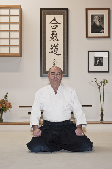 Ron Houle - Ron Houle 4th Dan is a retired psychotherapist. He has been teaching Aikido for the past 20 years and practicing for the past 28 years.