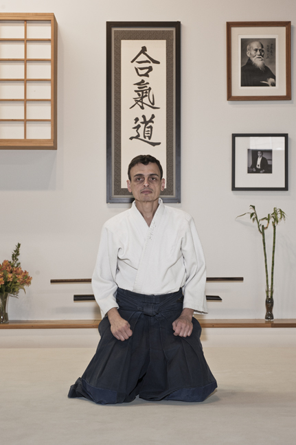 Nick Benfaremo - I started practicing Aikido in Philadelphia in the early 80's and have been practicing continuously since 1991. While I have studied other martial arts, I consider practicing Aikido to be one of the most rewarding undertakings of my life. I have practiced under many instructors and in many dojos around the world and am happy to have been a member of Portland Aikido since 2000. Nick is a sandan in Aikido.