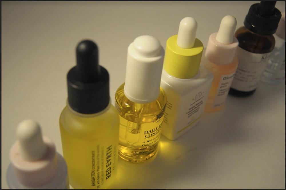 Photo of various serums by Antonia DePace