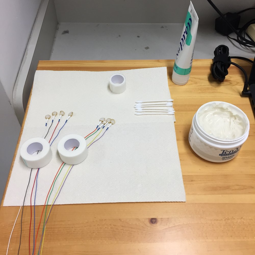 Cup Electrode with Gel and Paste