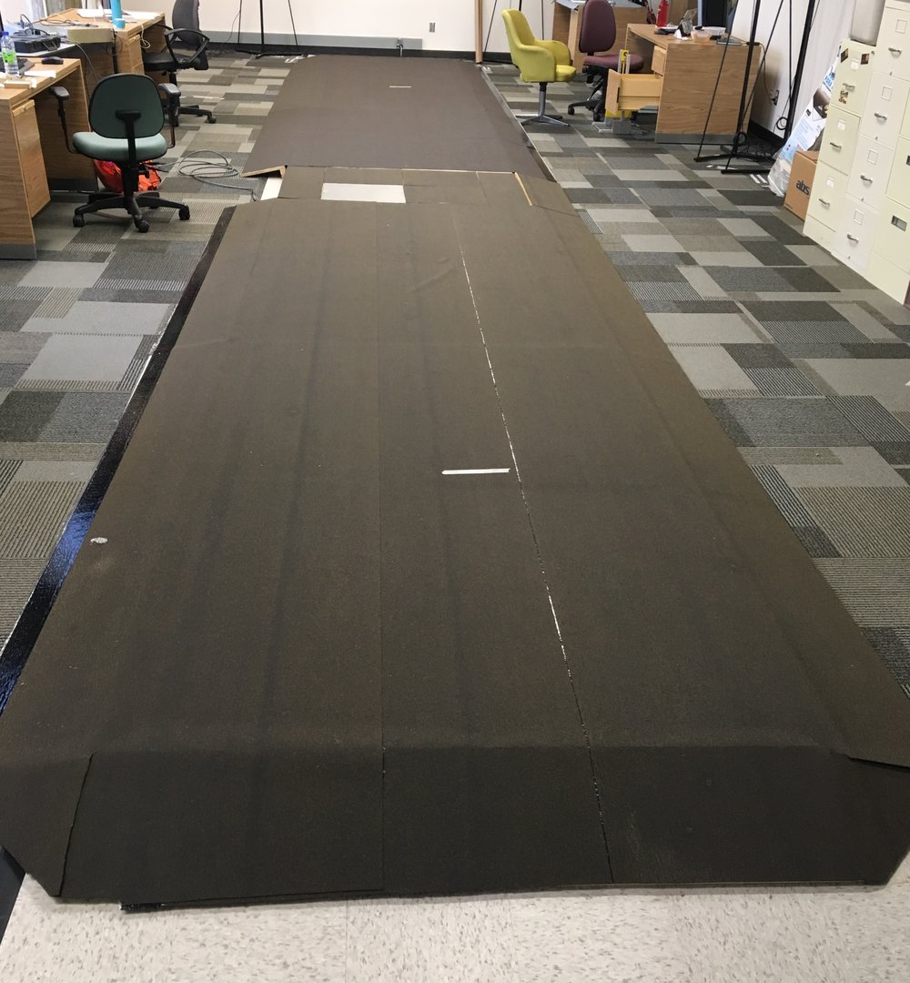 Force Plate Walkway