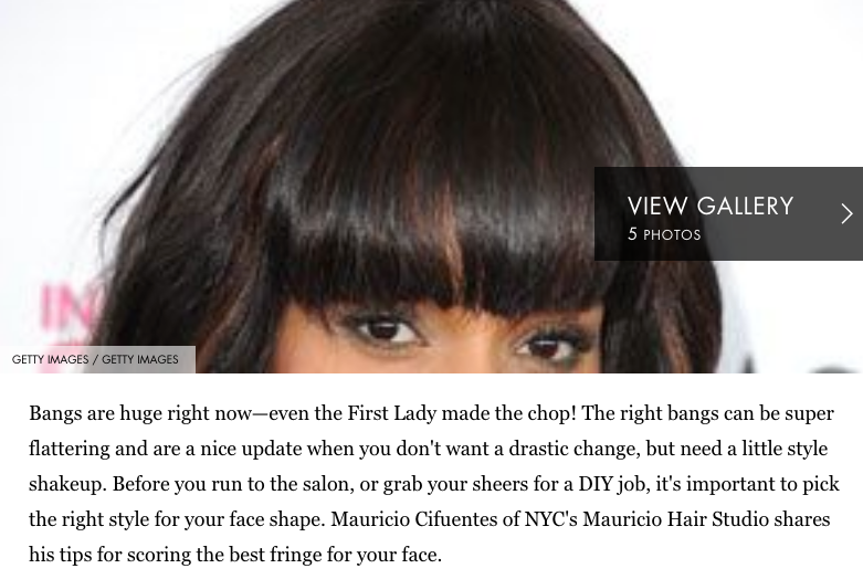 BANGS FOR YOUR FACE SHAPE - COSMOPOLITAN.COM