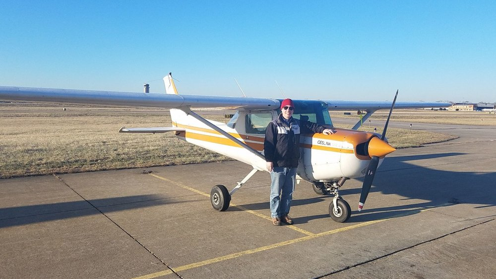 Sean's Solo Flight - 1-3-2019