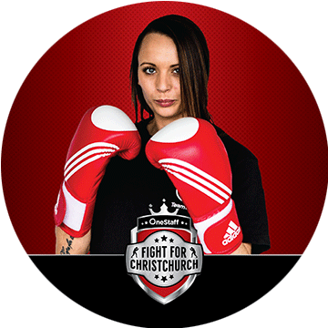 Vicky Roberts - Sponsored by: Red Badge GroupFighting for: Cure KidsOperations Manager Vicky Roberts is no stranger to challenge, working in the security industry and volunteering her time as a firefighter with the Governors Bay Brigade. Her intensive training under renowned trainer, himself a pro boxer, Nort Beauchamp will be sure to provide one heck of a fight as she squares up against Kimberley this November!