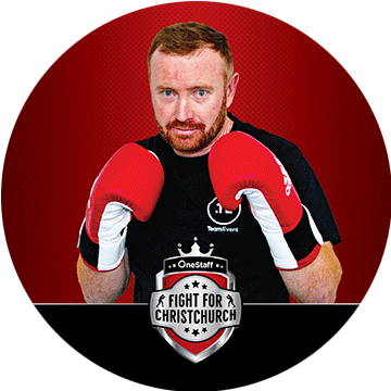 kain parsons - Sponsored by: HT HireFighting for: Conductive EducationOriginally a builder by trade, Kain turned his hand to project management at Versatile Garages in the wake of the earthquakes. A keen spectator at the 2017 event, Kain decided to tip his hat in the ring to raise funds for a very deserving local charity.