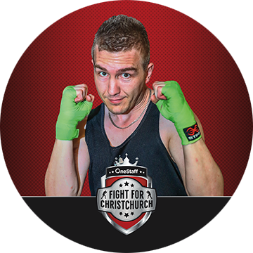 JAMES TABAK - James is looking for a challenge and is here to support a great cause. With three corporate bouts under his belt, he's known for lighting the ring on fire. Backing down is not in his vocabulary, so Chris had better prepare to last the distance!