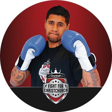 LEROY MUTU - Leroy is certainly no beginner - he's a club bout veteran, and his experience in the ring will surely prove influential in one of the toughest matches to call on the card! He's a late addition to the OneStaff Fight For Christchurch line up, but his training has been anything but delayed. He's aiming to put Quintin back in his place in a bout you do not want to miss!