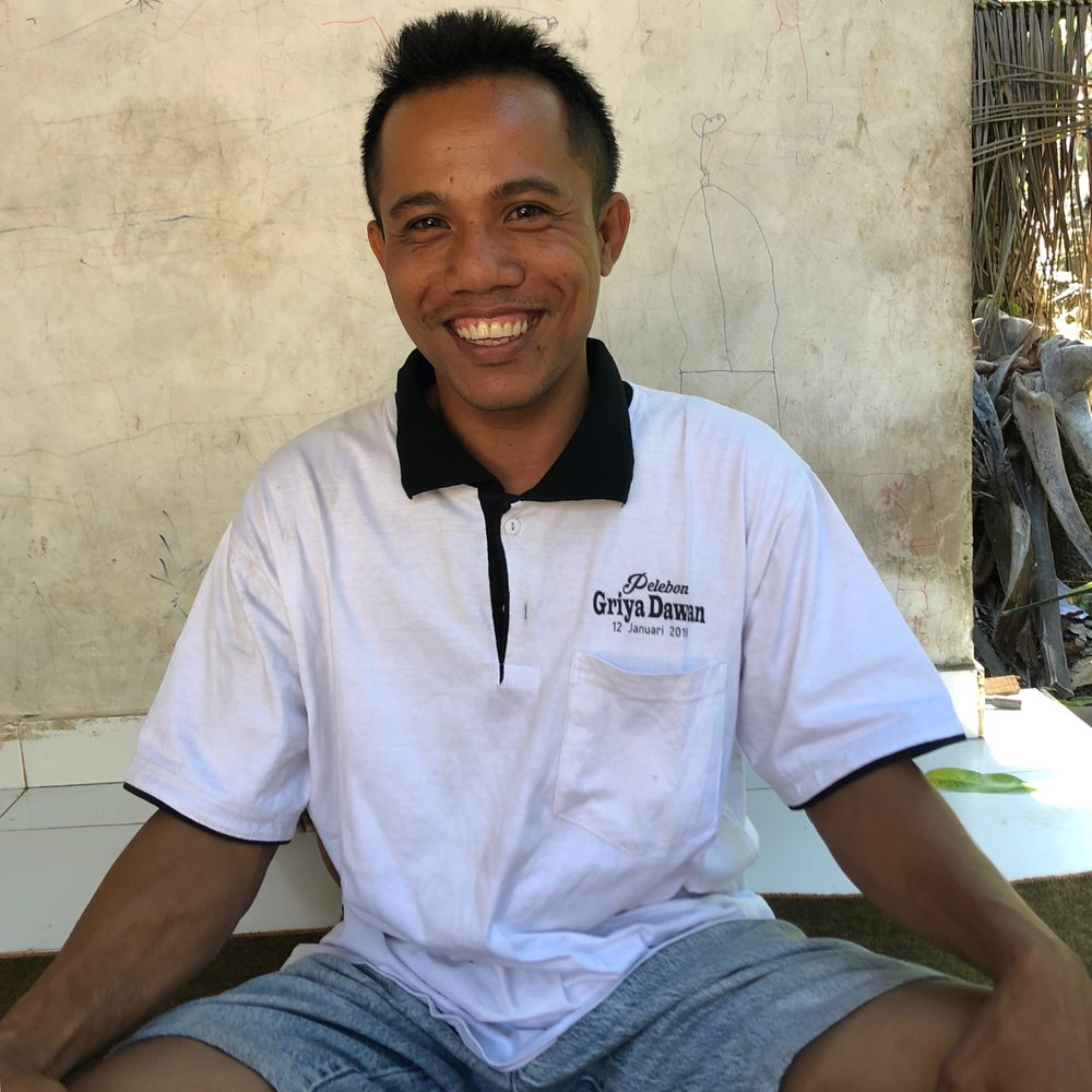 Wayan   EC Coconut Sugar Farmer, Klungkung