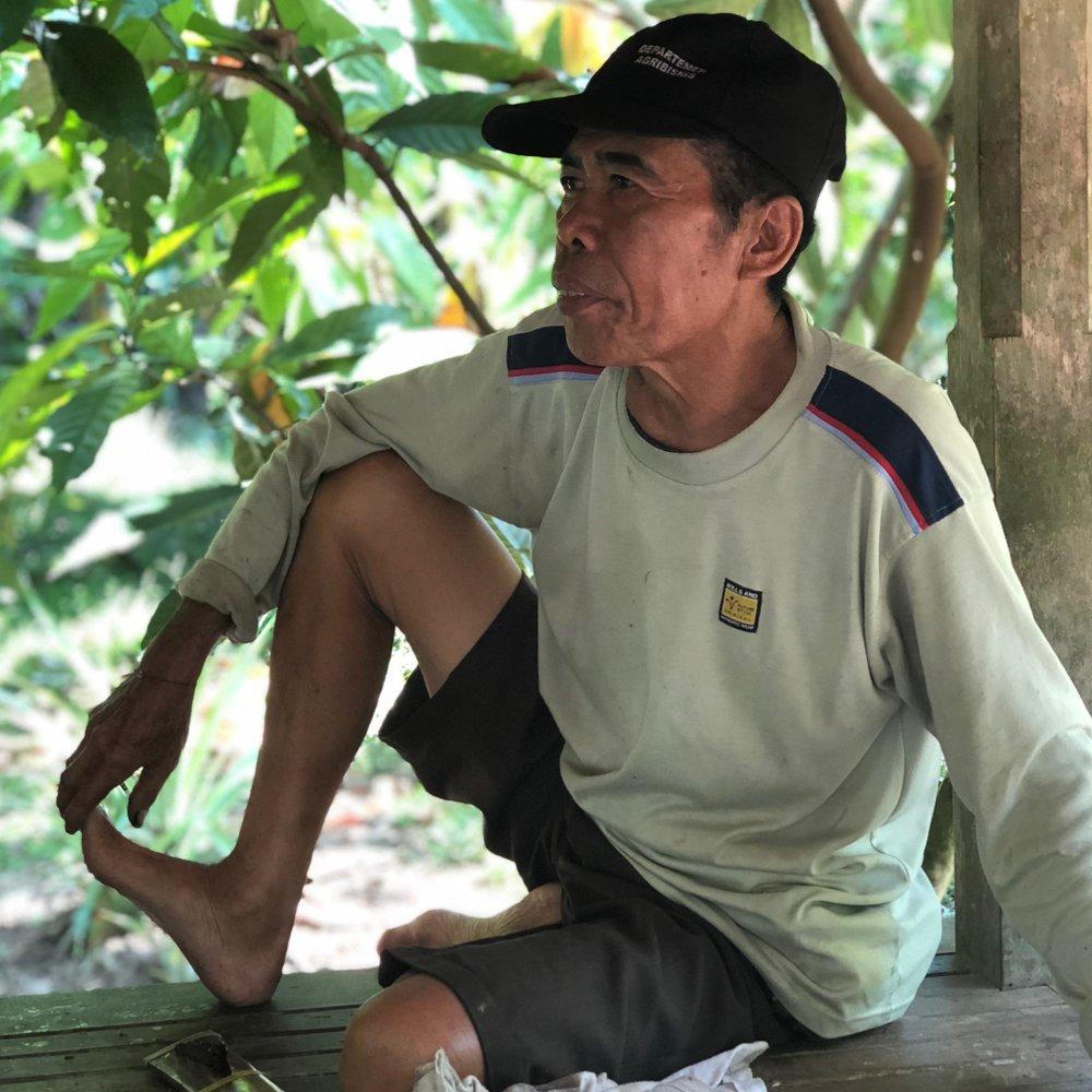 I Wayan Rata   EC Cacao Farmer, Jembrana