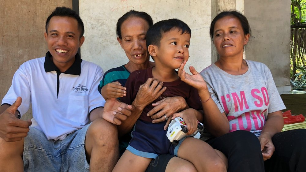 Wayan & Family - Klungkung, East Bali
