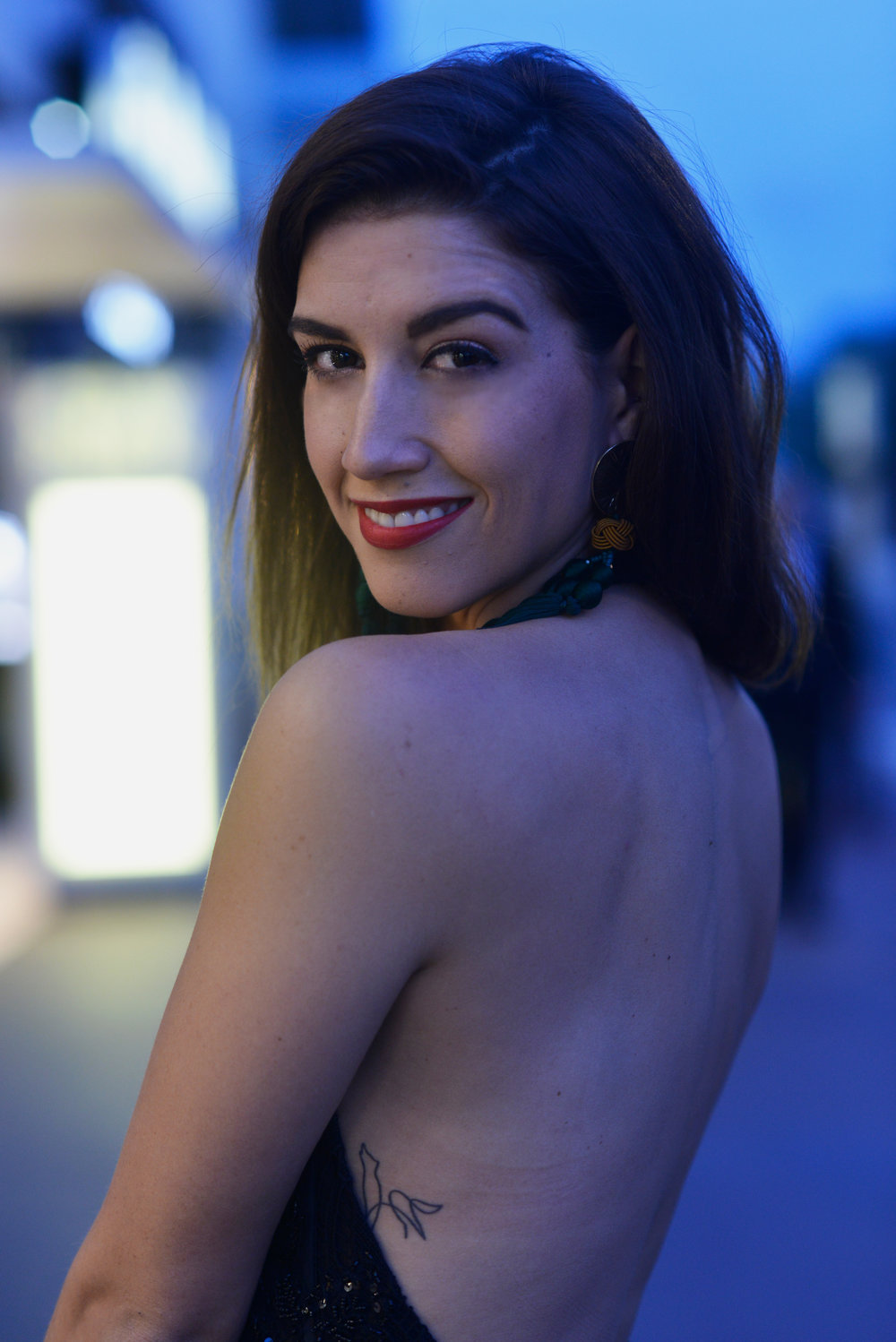 Alexandra Nell at the 71st Cannes Film Festival attending DOGMAN by Matteo Garrone (2018)
