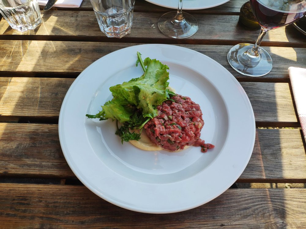 AI enhanced Beef Tartare