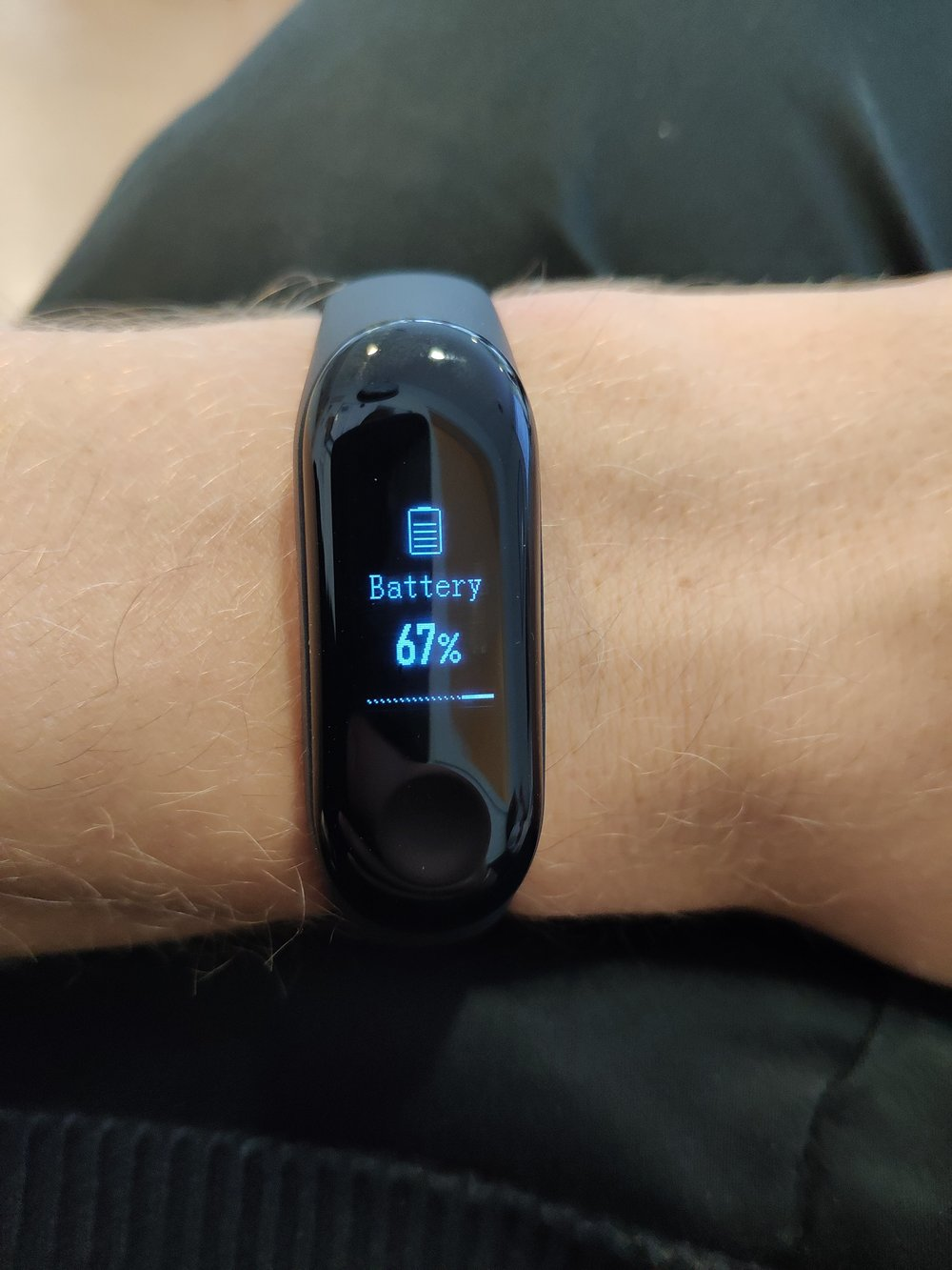 Copy of Battery Life on the Mi Band 3 is Great