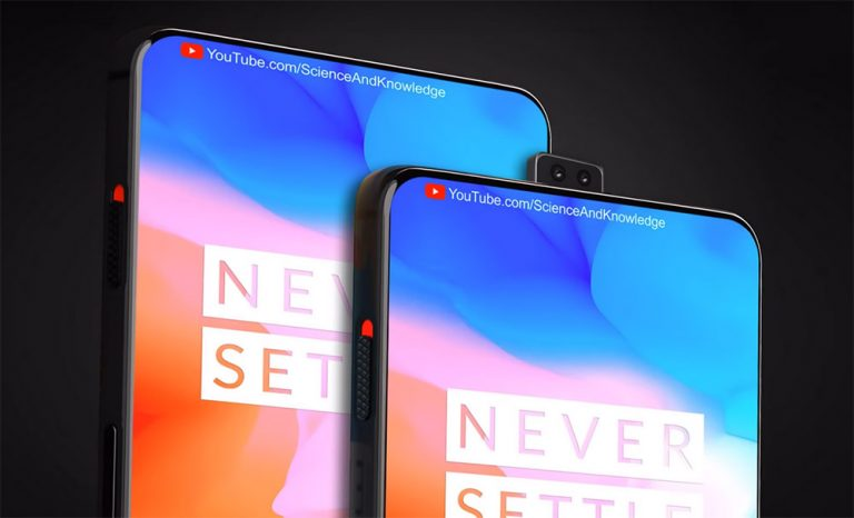 OnePlus 6T concept from  Science and Knowledge