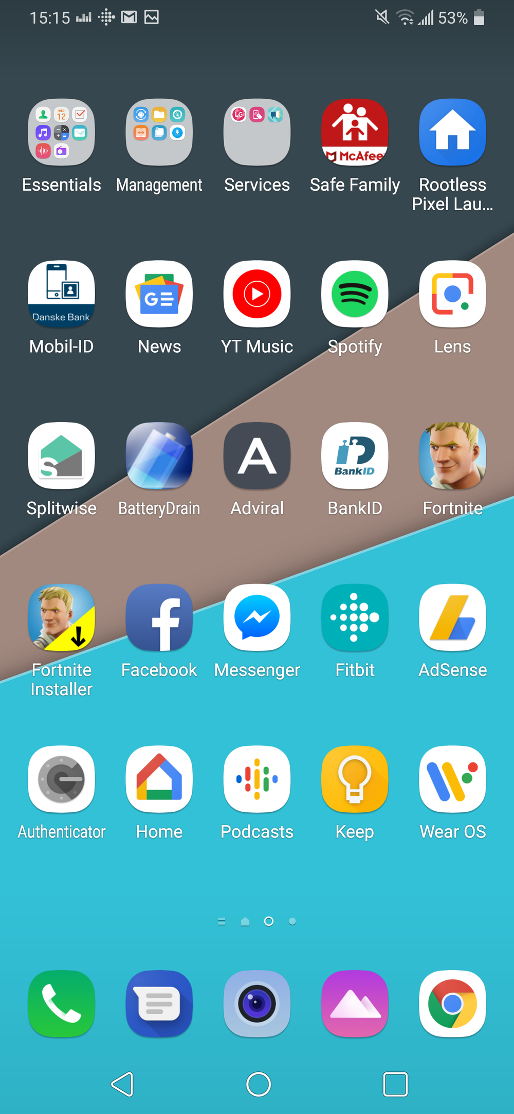 Cluttered apps