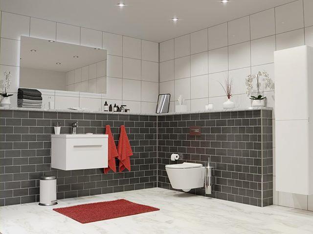 Knappens installationsvägg (halvhöjd) är det perfekta valet för dig som vill gömma rör i badrummet. Storlek anpassas efter byggprojekt.