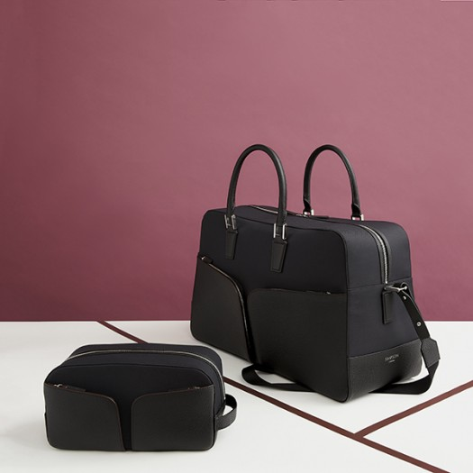 Left to Right:  Washbag in Black (FG00735701)  48 Hour Weekender Bag (FG00736301)