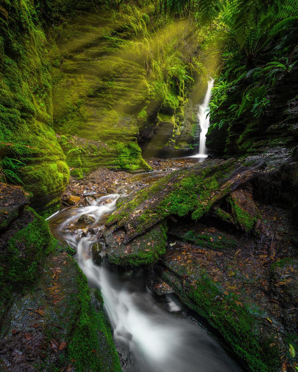 secret falls - hobart