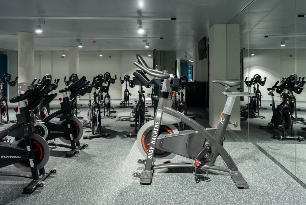 Experience indoor cycling as you've never before. - The Body Machine Performance Studio has been equipped with state-of-the art spin equipment. Our indoor cycling bikes are carefully selected and tested. We want to provide you with the best riding experience so that you can maximize your performance and achieve your training goals.