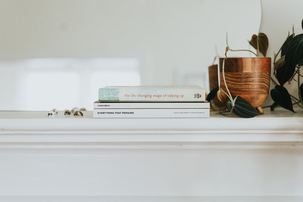My home organization inspiration:   The Life-Changing Magic of Tidying Up     by Marie Kondo and   Minimalism: Live a Meaningful Life   &   Everything That Remains   by The Minimalists (Joshua Fields Milburn & Ryan Nicodemus).