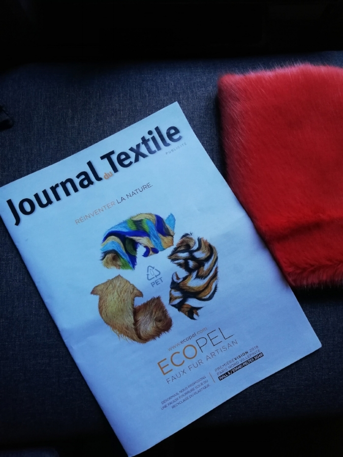 - This fabric represents a significative step and is part of our interest in circular economy that we are going to push in the coming years.(Christopher Sarfati, Director of the european branch of Ecopel. Journal du Textile)