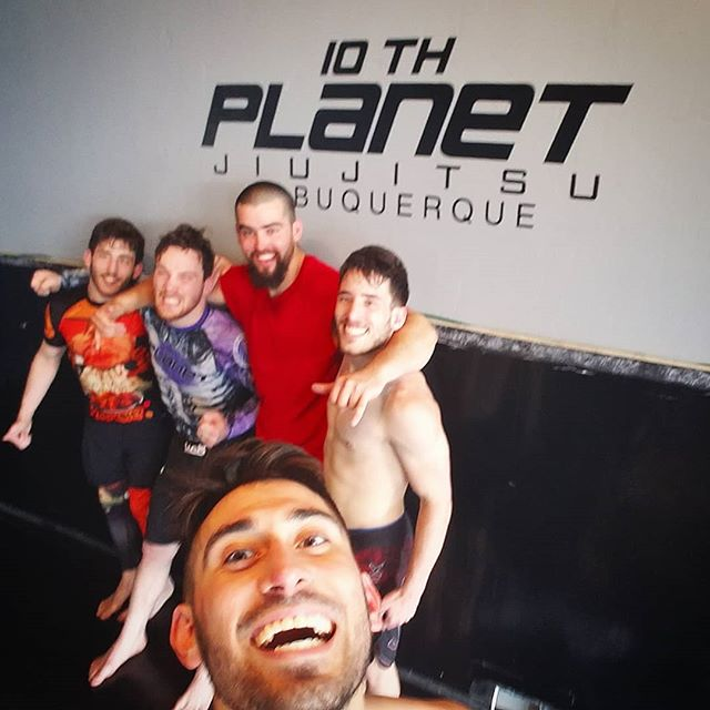 Awesome noon class! . Our resident Florida boy @donnie_karate10p brought the fire with the gator roll and anaconda chooke. Thanks to @rubenrivera10p for dropping some awesome details last week. . Also, shoutout to @ashermirsa and Darius from across the pond @10thplanet_london! . #darkhavenstudio #10pabq #jiujitsu #wrestling #submissiongrappling #muaythai #kickboxing #505 #burque #dukecityigers #enterthedarkness #growthandevolution #10p4l #10wo #eddiebravo