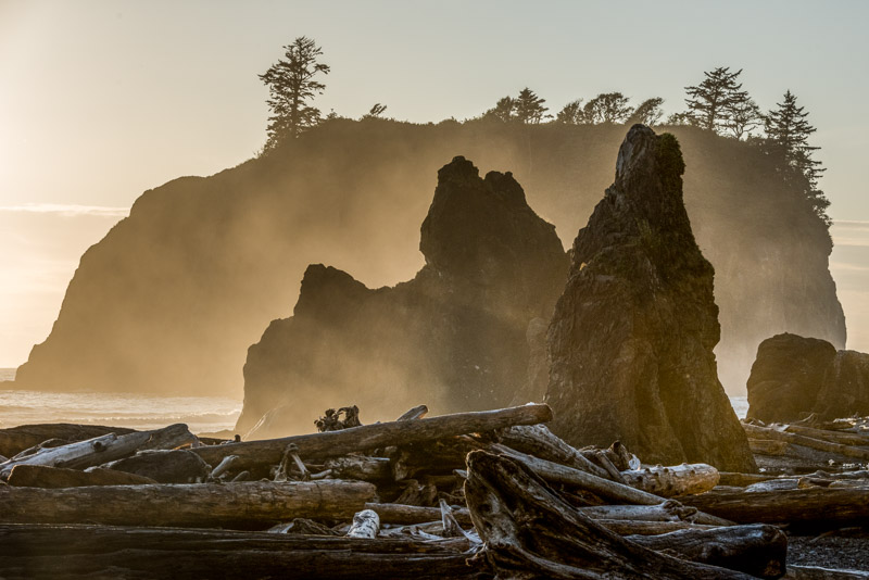 Ruby Beach, Sunset, Olympic Peninsula