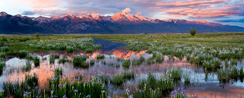 Sangre de Cristo Range, San Luis Valley, Colorado