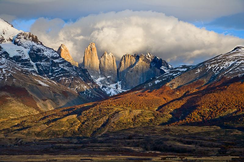 Torres del Paine, Autumn