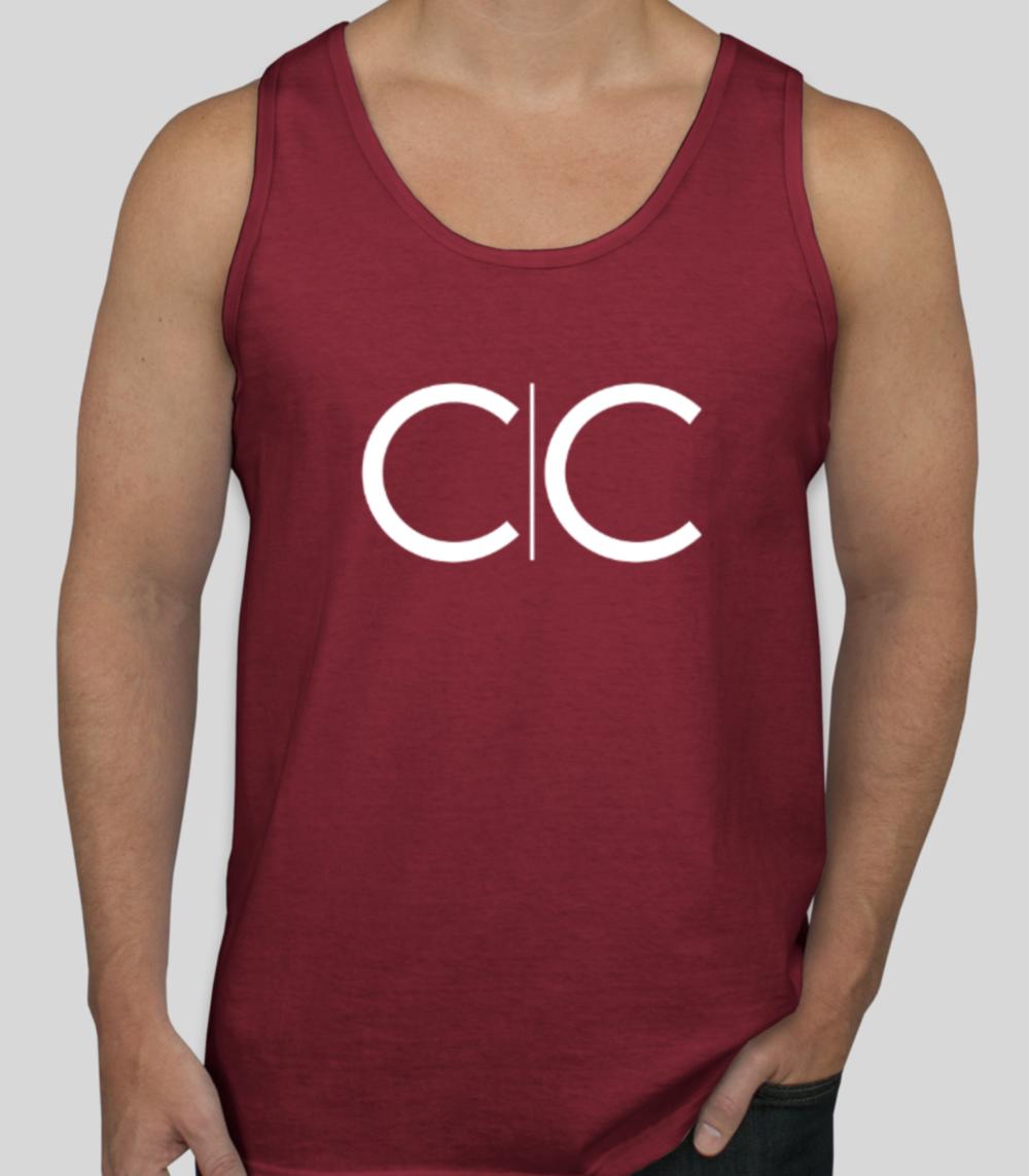 Crimson CC Tank  $22.00