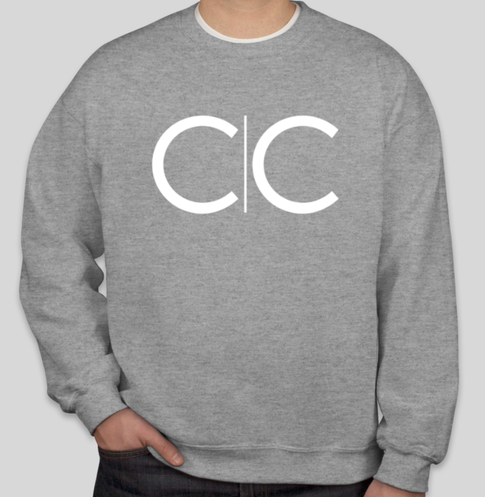 CC Heather Grey Crew Neck Pullover  $19.00