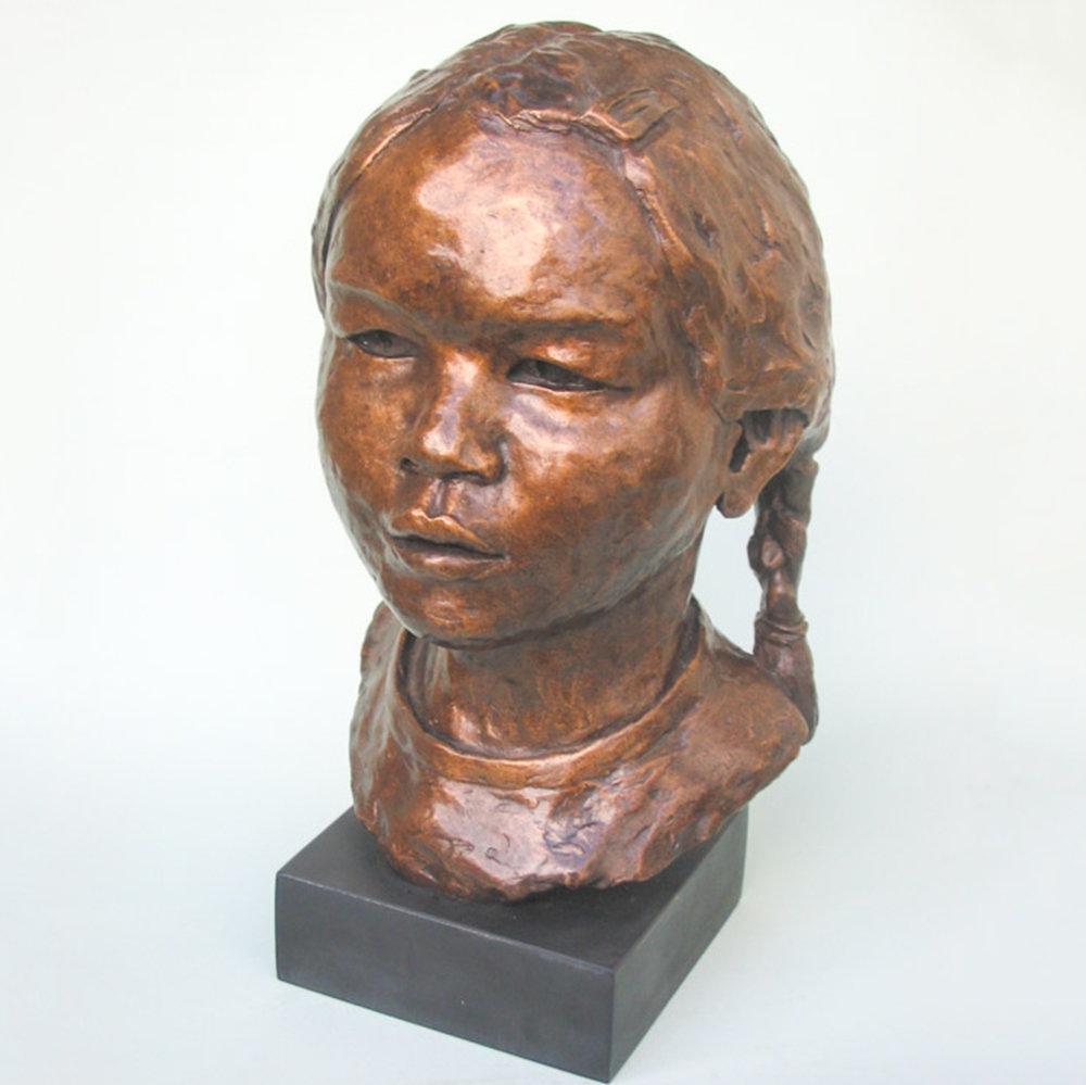 Freya (35x25cm. Bronze.)