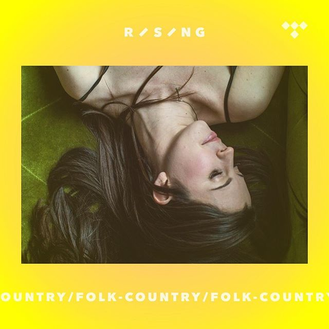 "This week has been full of special surprises & this was another one 💛✨ Thank you so much @tidal for including ""I Can't Fill You Up"" on your Rising Country/Folk playlist & one of my favorite photos by @dredrea on the cover!!💛⚡️Beyond grateful for the support for this little song that @goffmoore & I have poured our hearts into. It means so much to me--thank you 💖💫✨"