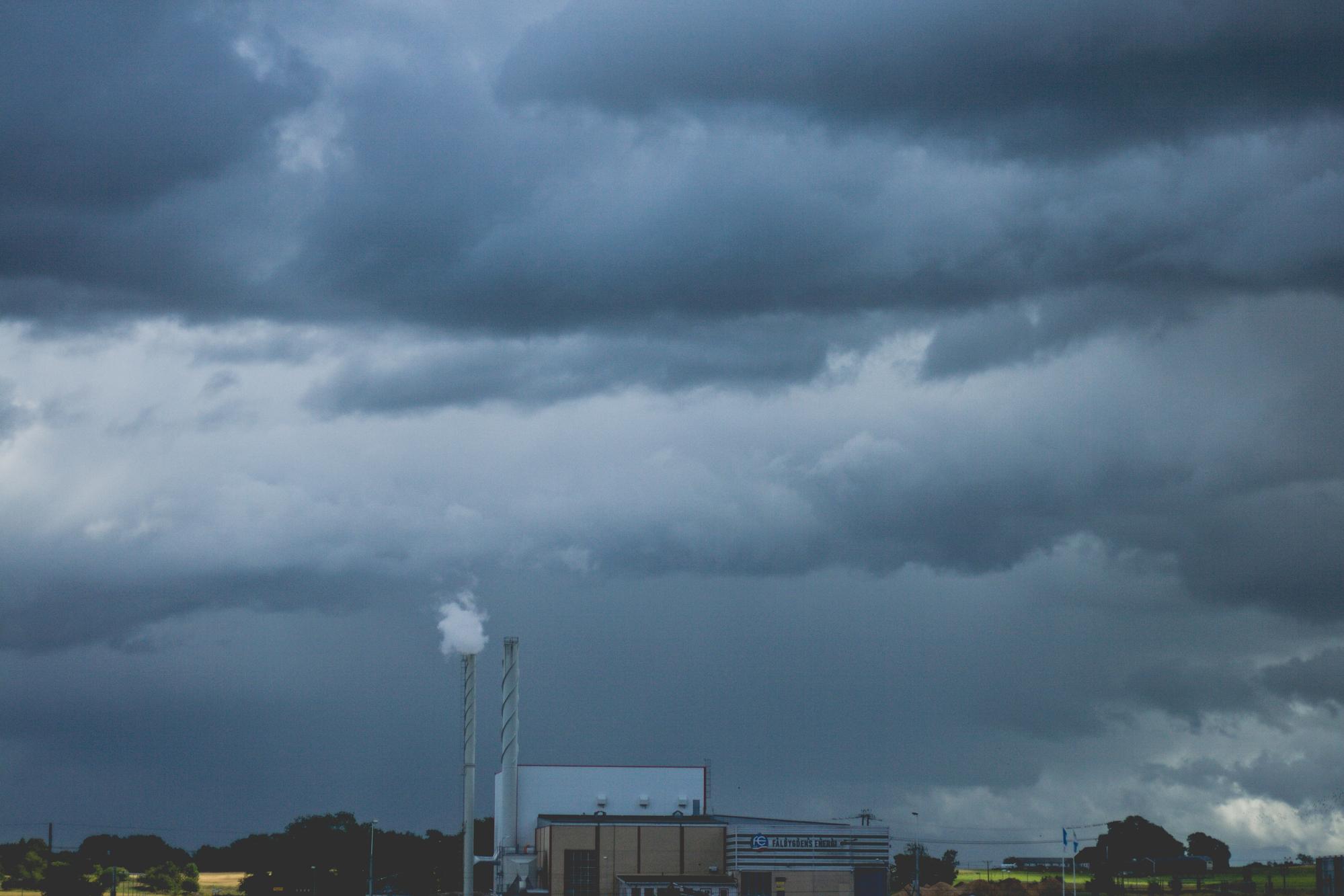 Molnen med stormen