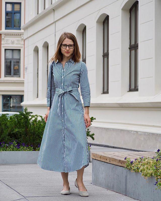 f96b161ea6c A shirt dress and you re ready to go  shirtdress  officewear  officestyle